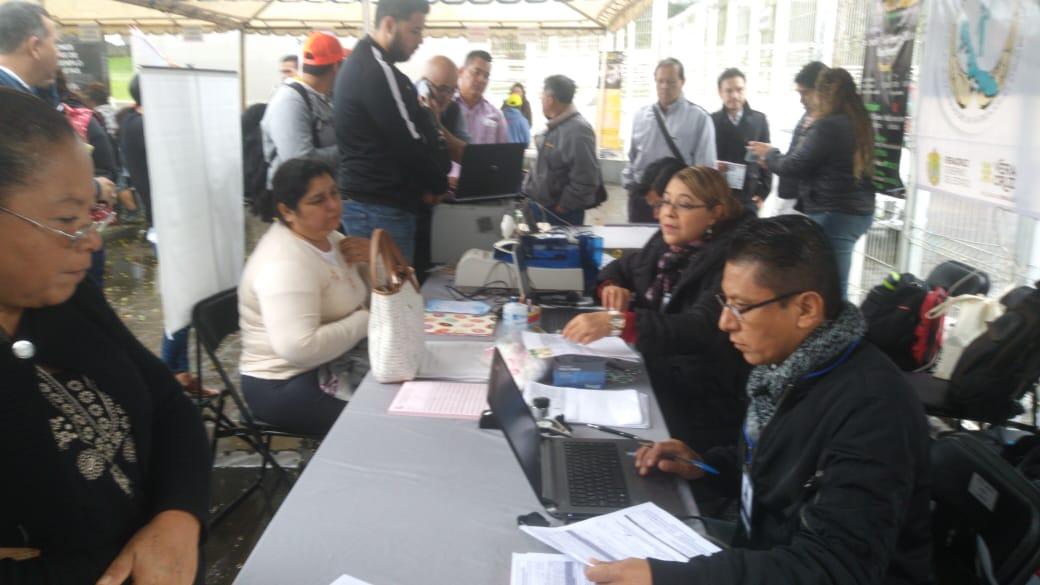 El SSTEEV presente y en servicio en modulo itinerante, en el Estadio Xalapeño, durante el evento 10°A Carrera y Caminata SETSE