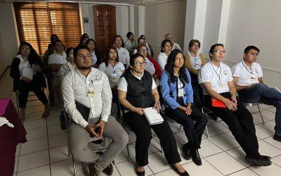 """""""Curso de Atención a Derechohabientes y Calidad en el Servicio"""", impartido por nuestro Director-Gerente, L.A.E. Francisco E. Pérez Carreón."""