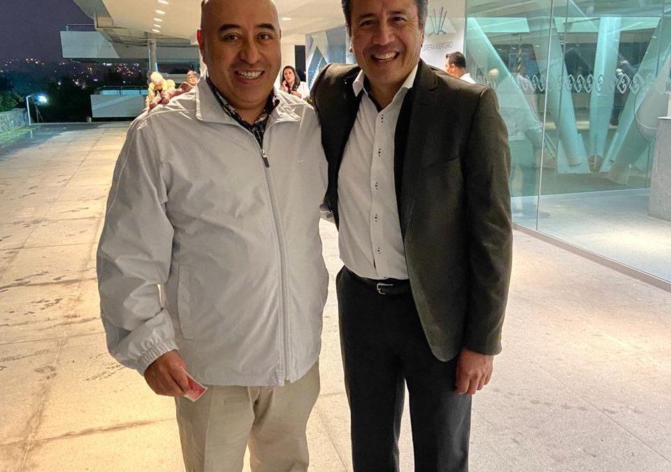 El día de ayer, el Director-Gerente, L.A.E. Francisco E. Pérez Carreón, se reunió con nuestro Gobernador, Ing. Cuitláhuac García Jiménez