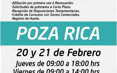 ¡Regresa nuestra UNIDAD MÓVIL a tu ciudad!, Este 20 y 21 de Febrero en POZA RICA.