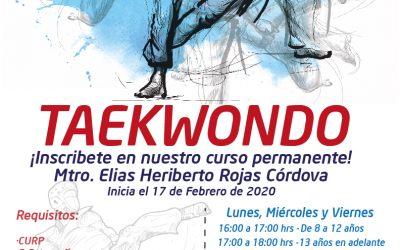 TAEKWONDO SSTEEV- ¡Te invitamos a formar parte de nuestros TALLERES PERMANENTES EN NUESTRAS OFICINAS CENTRALES!