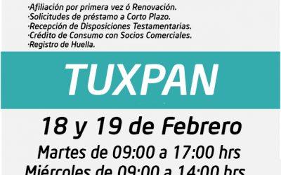UNIDAD MÓVIL SSTEEV, ¡Te vemos este 18 y 19 de Febrero en TUXPAN!