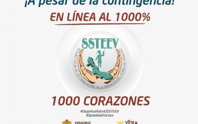 ¡En el SSTEEV te damos atención EN LÍNEA al 1000% !