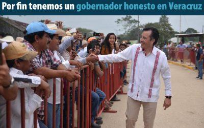 ¡Gracias Gobernador Cuitláhuac García Jiménez!