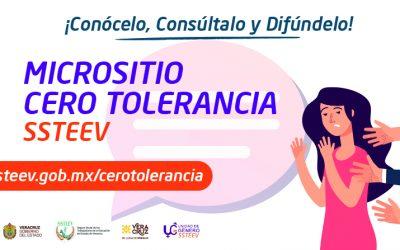 Micrositio Cero Tolerancia – SSTEEV
