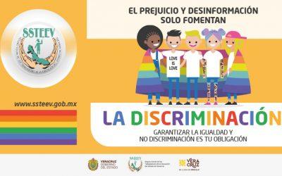 ¡En el SSTEEV garantizamos la igualdad y no discriminación!