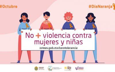 #DíaNaranja, un día para actuar a favor de generar conciencia y prevenir la violencia contra mujeres y niñas