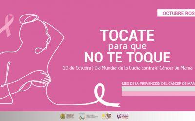 19 de Octubre | Día Mundial de la Lucha contra el #CáncerDeMama