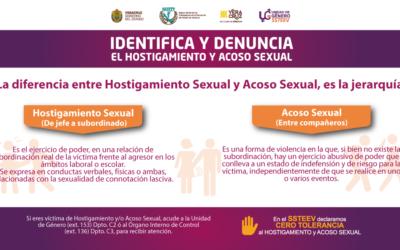 Identifica y Denuncia el Hostigamiento y Acoso Sexual